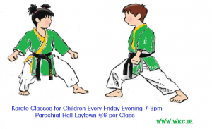 Karate Classes with Sensi B Donnelly 7th Dan WKC