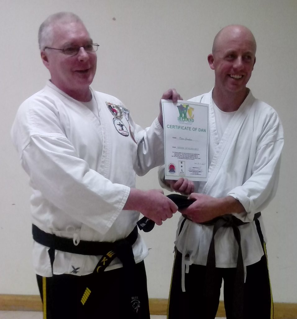 Dave Carolan and Sensei B Donnelly