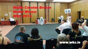 Mollie takes Bronze WKC 2015